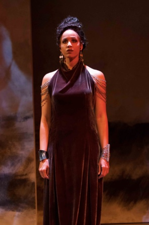 Jennie Greenberry stars as Antiochus' Daughter in Shakespeare's epic tale, Pericles. Photography by Teresa Wood