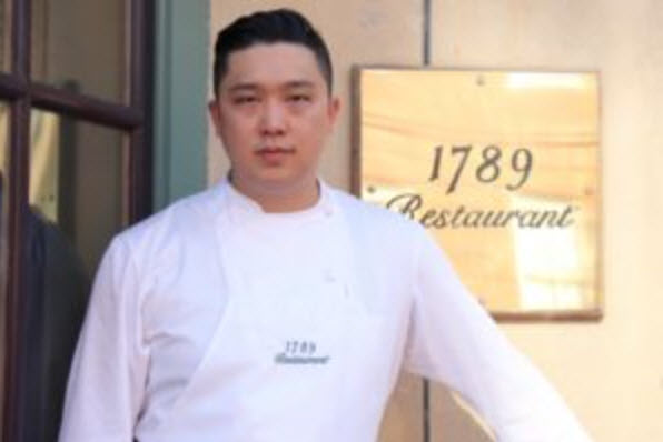 Executive Chef Samuel Kim - Photo Credit:1789 Restaurant