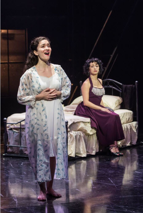 MaryJoanna Grisso (Maria) and Natascia Diaz (Anita). Photo by Christopher Mueller