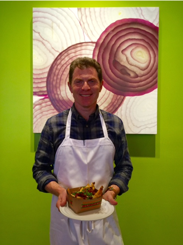 Bobby Flay on K Street