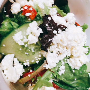 A light fare salad from Simit + Smith