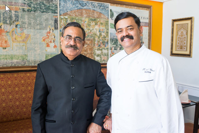 Chef K. N. Vinod and Co-Owner Surfy Rahman