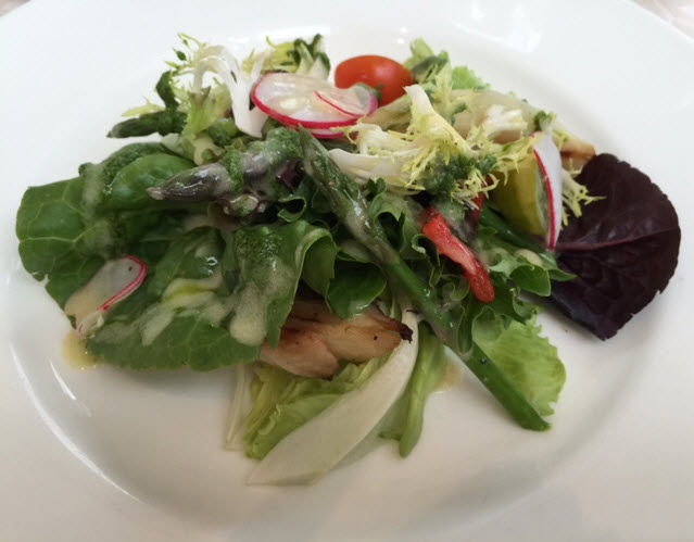 Provençal Vegetable Salad with herb pistou vinaigrette