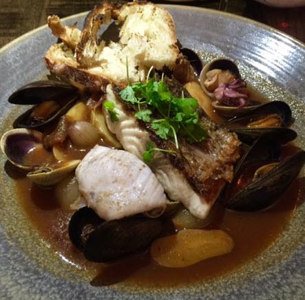 Maryland Rockfish bouillabaisse