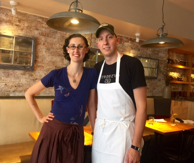 Michelle and Jeremy Hoffman of Preserve restaurant