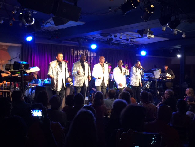 The Temptations perform at the Ram's Head