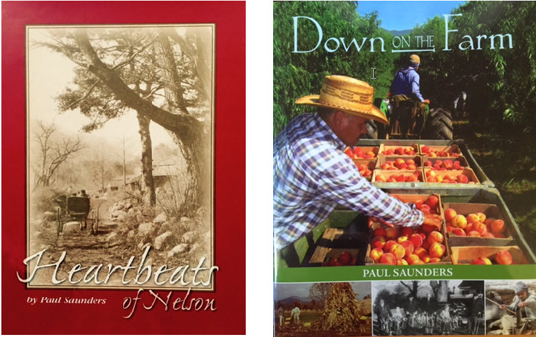 Author Paul Saunders - Heartbeat of Nelson & Down on the Farm
