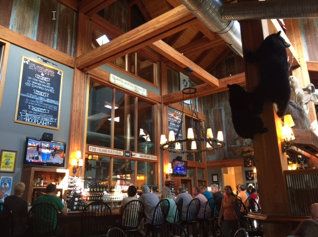 The restaurant at Devils Backbone Brewing Company