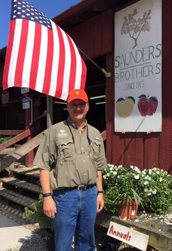 Fourth generation owner Jim Saunders