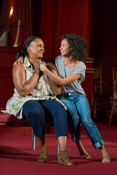 Inga Ballard as Nurse and Ayana Workman as Juliet. Photo by Scott Suchman.