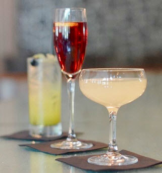 Seasonal cocktails at 701