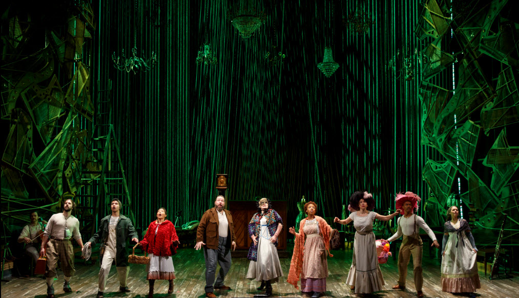 The Company in Into These Woods - Photo credit Joan Marcus