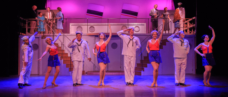 "The Cast of ""Anything Goes"" performing ""Anything Goes - Photos by Keith Waters for Kx Photography"