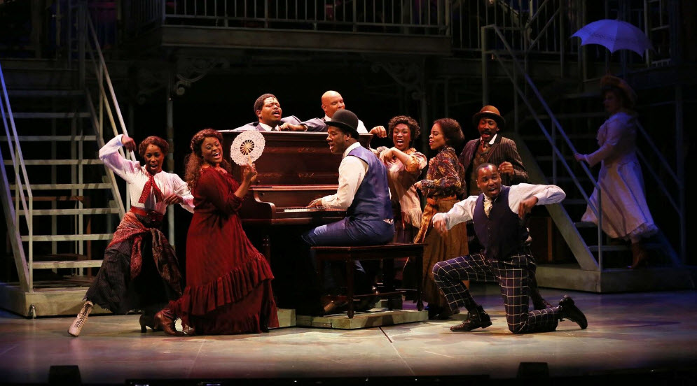 "Cast of the musical ""Ragtime"" at Ford's Theatre, directed by Peter Flynn. Photo by Carol Rosegg"