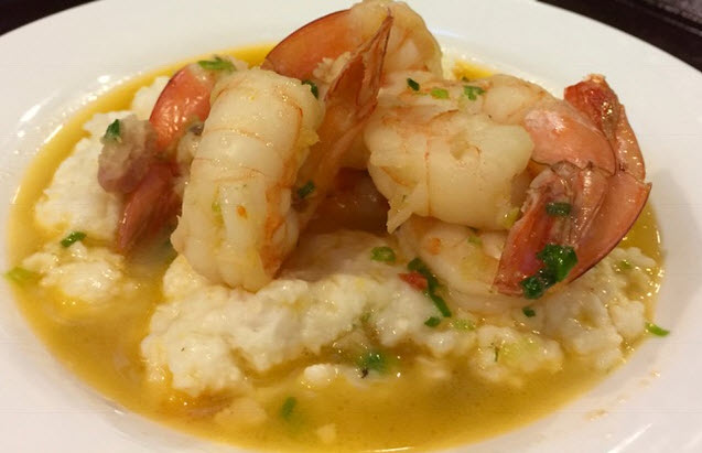 Shrimp and Anson Mills Grits