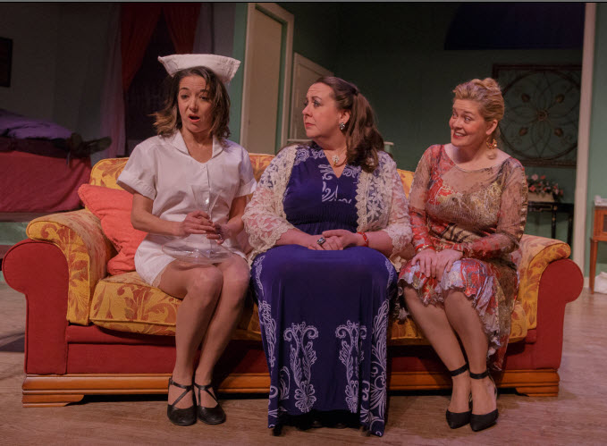 Dana Gattuso (Anne), Elizabeth Replogle (Magda) and Charlene Sloan (Harriet) - Photos by Keith Waters for Kx Photograhy