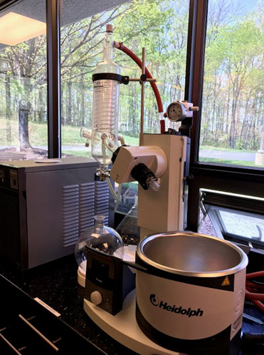 High Tech Rotary Evaporator