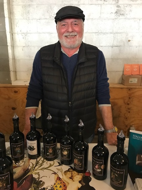 Renato Vicario of Vicario Wine and Spirits
