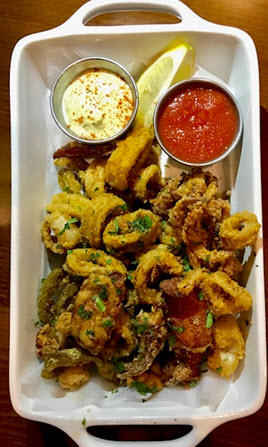 Fried calamari at Red's Table