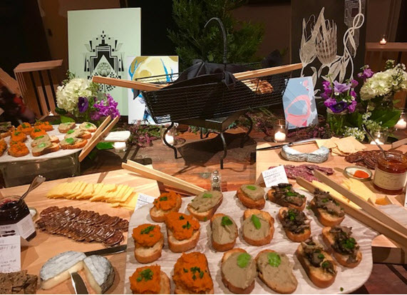 A bountiful display of Colorado's best cheeses, meats, breads and chocolates ~ Photo credit Colorado Tourism