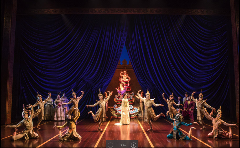 The Cast of Rodgers & Hammerstein's The King and I. Photo credit Matthew Murphy