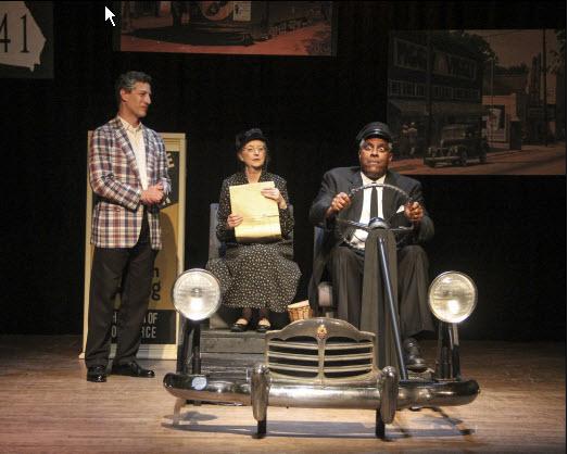 Boolie (Joel Durgavich), Daisy (Patricia Kratzer) and Hoke ~ Photographer: Matt Liptak