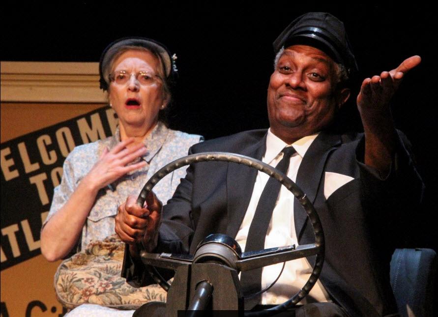 Daisy (Patricia Kratzer) and Hoke (Kevin Sockwell) ~Photographer: Matt Liptak