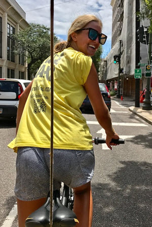 Pedicabs are a convenient way to get around