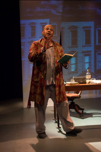 Marcus Naylor as Langston Hughes