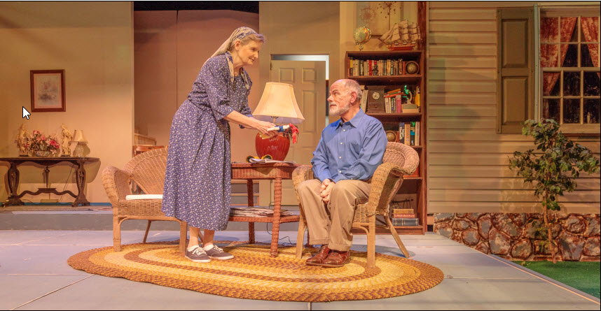 : Marilyn Pifer as Cassandra and Mario Font as Vanya - Photos by: Keith Waters
