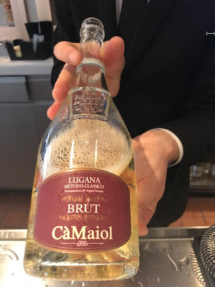 Ca Maiol from Lugana - a delicious sparkler