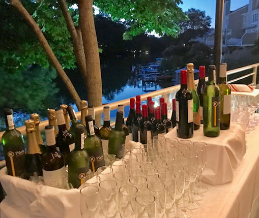 Spanish wines at Red's Table dinner event