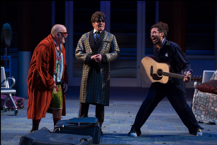 Andrew Weems as Sir Toby Belch, Derek Smith as Malvolio and Hearth Saunders as Feste in Twelfth Night by Scott Suchman ~ Photo credit Scott Suchman