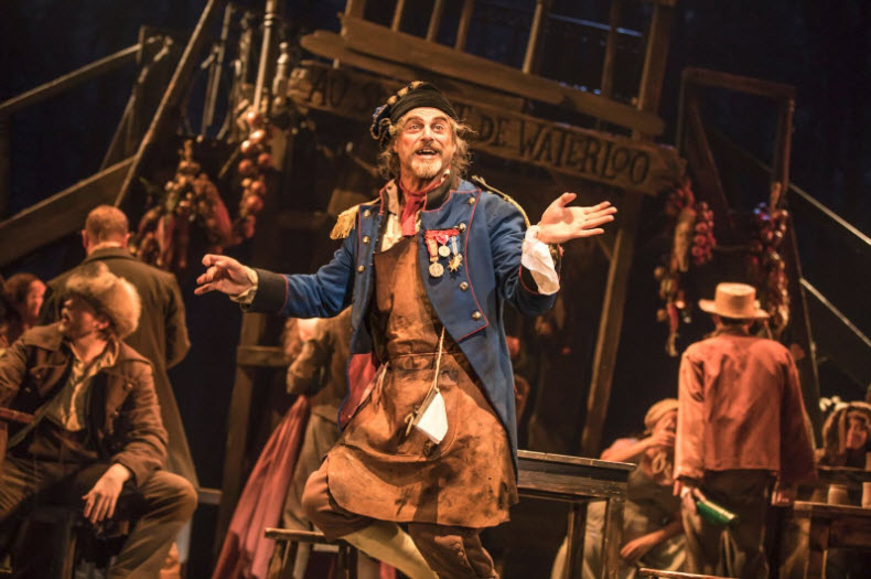 J Anthony Crane as 'Thénardier' ~ Photo by Matthew Murphy