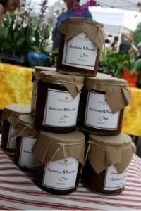 Photo by Jordan Wright - Copper Pot Food Company's summer-in-jar Nectarine and Bourbon Jam