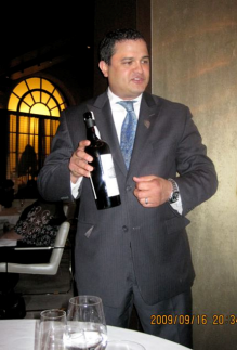 Wine Director Ramon Navaez at Adour - Photo credit Jordan Wright