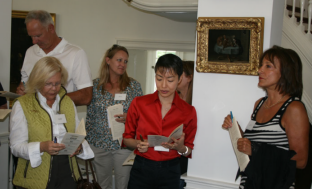 The judges deliberate - from left - Jordan Wright, Akiko Katayama and Nora Poullion - photo credit Roy Wright