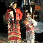 Mother and daughter prepare to perform the bell dance - photo credit Jordan Wright