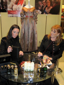 Victoria Christian and Sarah, The Duchess of York at the Neiman Marcus signing - photo by Jordan Wright